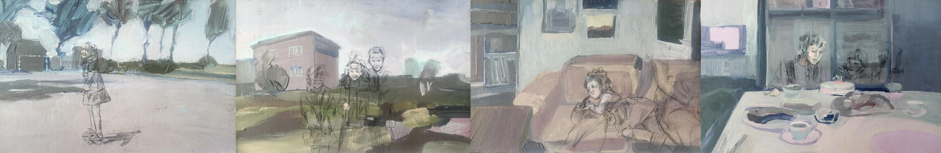 ROCZNICE, t. mieszana, 20x30, 2019-2020