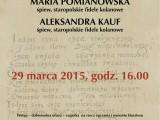 Koncert w Opactwie Sióstr Benedyktynek w Staniątkach